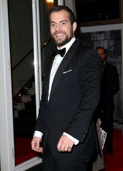 Henry Cavill at the BAFTA Film Gala Dinner