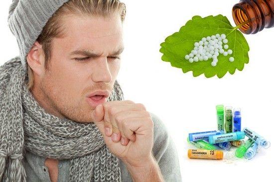 L' homéopathe permet de soigner efficacement la toux avec différentes sousches selon les symptomes de toux seche et de toux grasse.