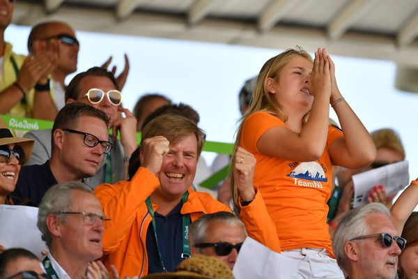 King Carl Gustaf of Sweden and Dutch Royals at Rio Olympics