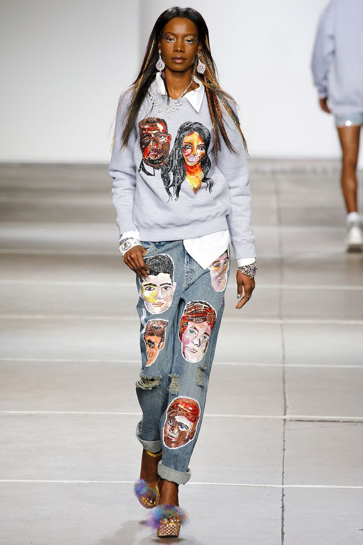 Ashish Spring 2015 Ready-to-Wear - Collection Inspiration: slouchy, sporty, and urban, 70s