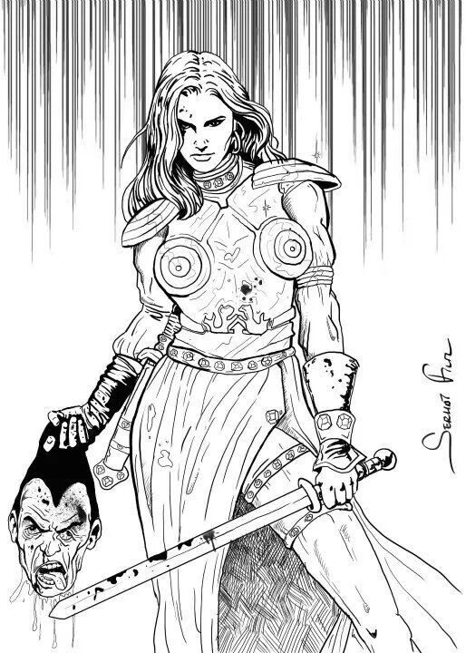 Tümyr is, woman warrior