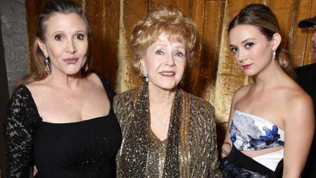 Billie Lourd: How She Coped When Carrie Fisher & Debbie Reynolds Died Back-To-Back https://tmbw.news/billie-lourd-how-she-coped-when-carrie-fisher-debbie-reynolds-died-back-to-back  Billie Lourd opened up about the deaths of mom, Carrie Fisher, and grandma Debbie Reynolds, who died just one day apart. The 'Scream Queens' star revealed what she did to cope with her tragic loss.The deaths of Carrie Fisher and her mother, Debbie Reynolds, in December 2016 were incredibly shocking and sudden…