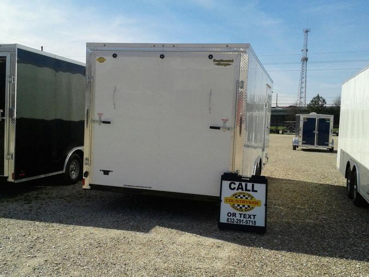 Best 25 Enclosed Trailers For Sale Ideas On Pinterest Trailers