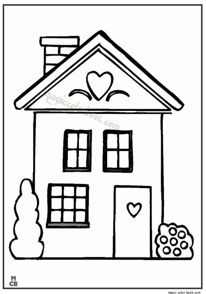 Mejores 18 imágenes de Home Coloring pages free en Pinterest ...
