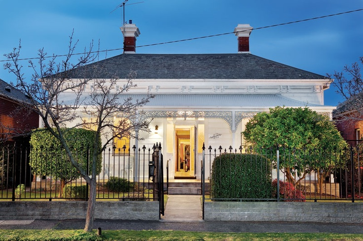 An immaculate block fronted Victorian residence