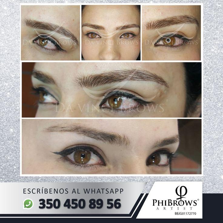 Miradas impactantes y cejas perfectas con #DavinciBrows  Agenda tu cita al WhatSapp: 350 450 89 56