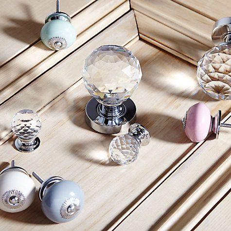 Buy John Lewis Bonbon Ceramic Round Cupboard Knob, Dia.45mm Online at johnlewis.com