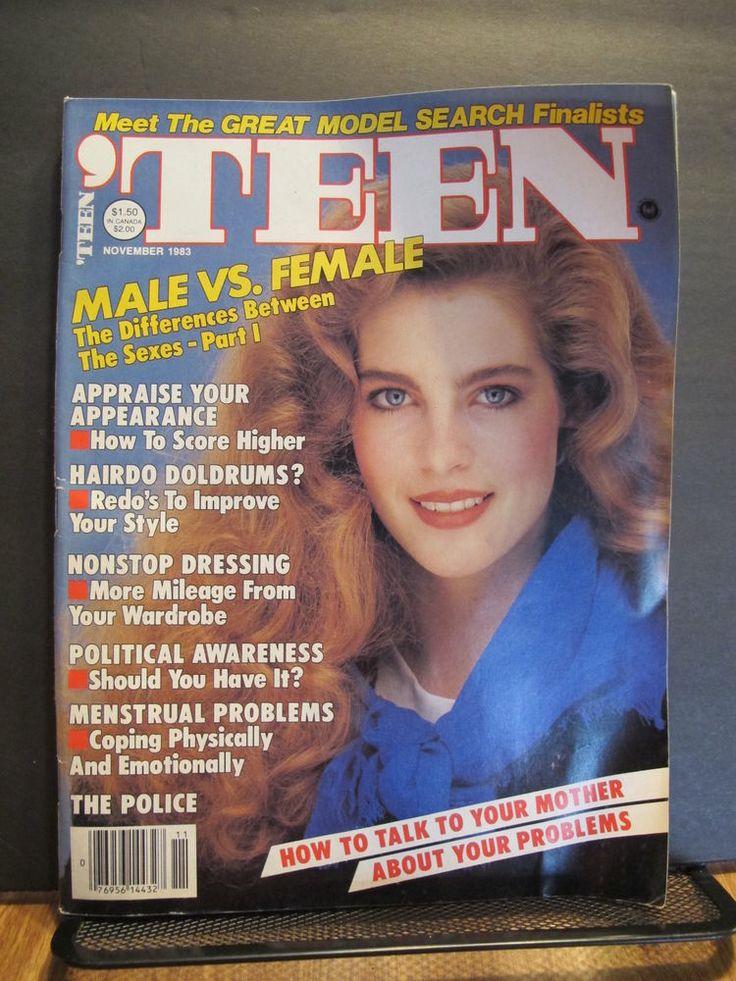 Teen Magazine November 1983 Paige Tiffany Hall