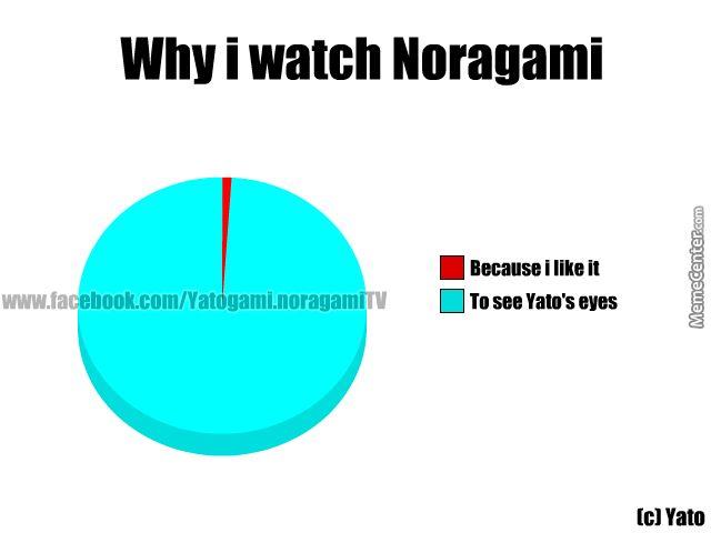 noragami funny | The Reason I Watch Noragami