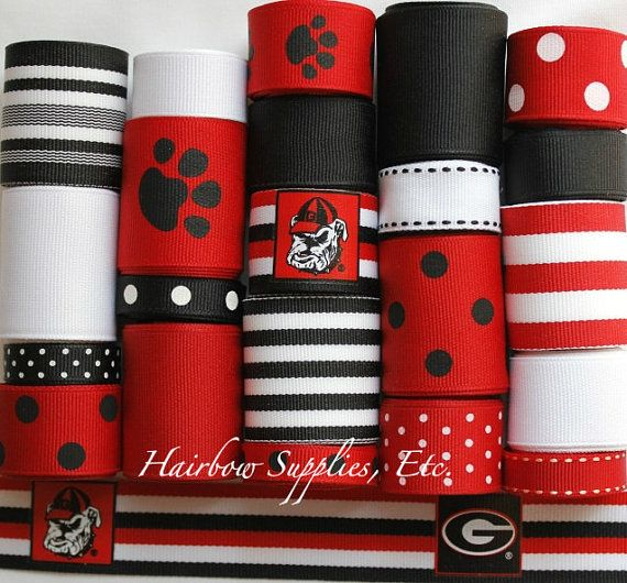 georgia bulldog accessories 23 best georgia sports teams ribbons images on pinterest 268