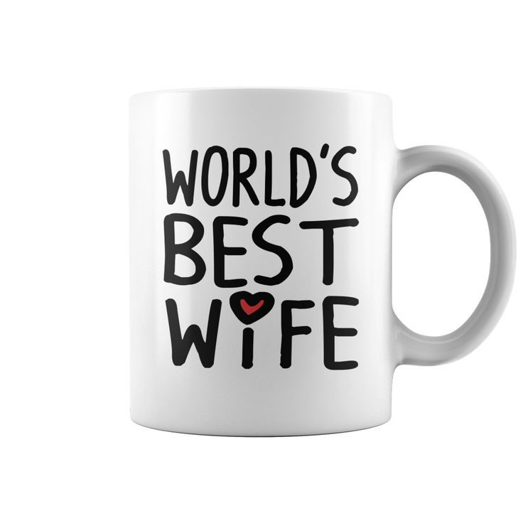 WorldS Best WIfe Anniversary Christmas Birthday Coffee Mug Gift