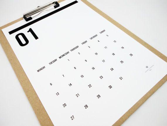 Double Digits Printable Calendar 2014 Instant by SacredandProfane, $12.00