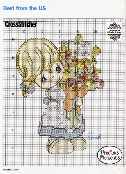 65 Best Cross Stitch Precious Moments Images On