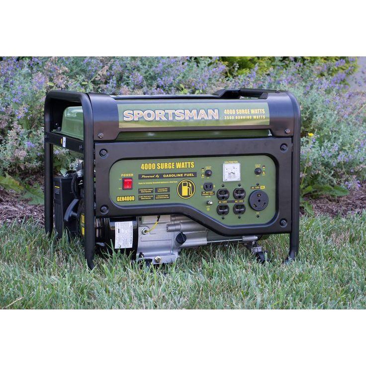 Best Selling Generator Portable Gas Power Emergency House RV Outlet 4000 Watt #Champion
