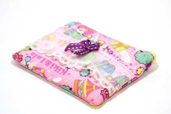 PINKKIS Special Editions Coin Pouch Kiki and Lala with by Pinkkis, $9.00
