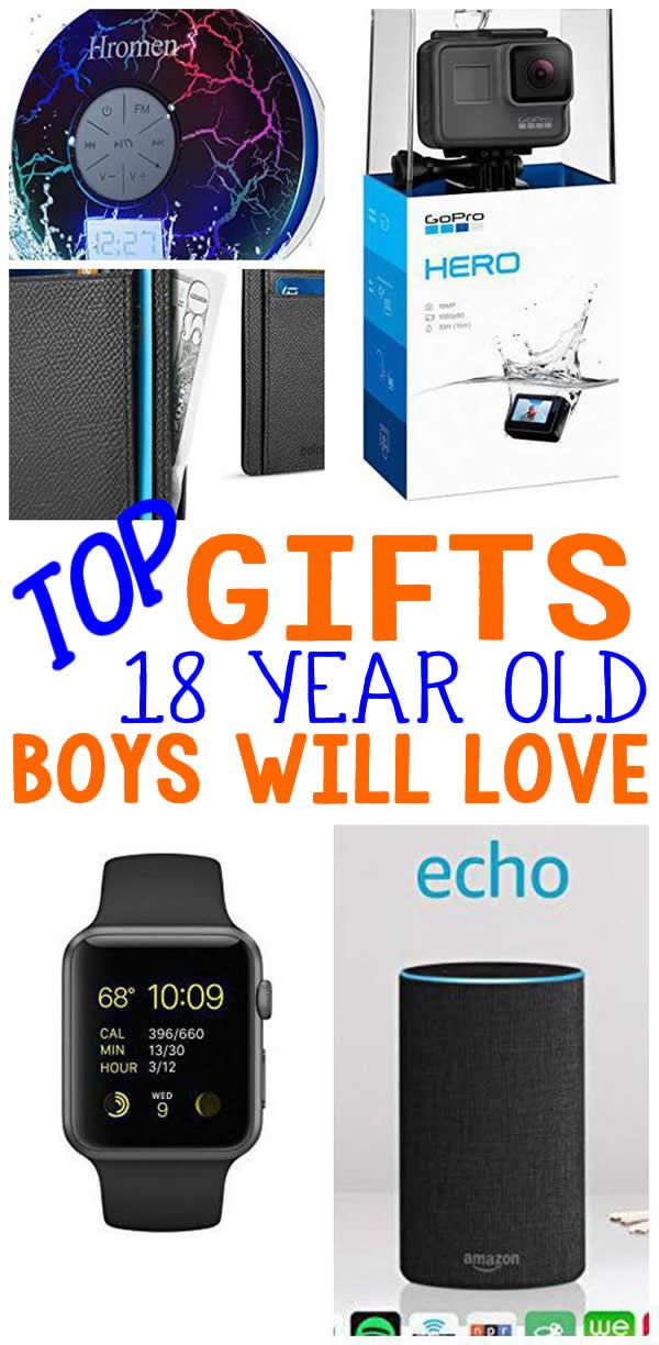 BEST Gifts 18 Year Old Boys Top Gift Ideas That Yr Men Will Love Find Presents Suggestions For A 18th BirthdayChristmas Or Just