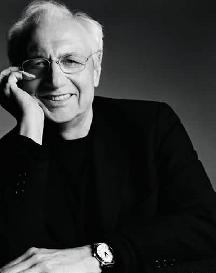 Canadian-born [1929] American Frank Gehry is a Pritzker Prize–winning architect based in Los Angeles.  His designs have been built all over the world.