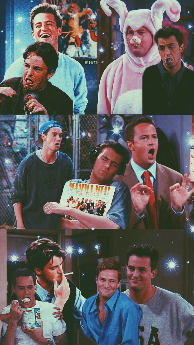 Chandler Bing wallpaper ???????? #seriesonnetflix F.R.I.E.N.D.S