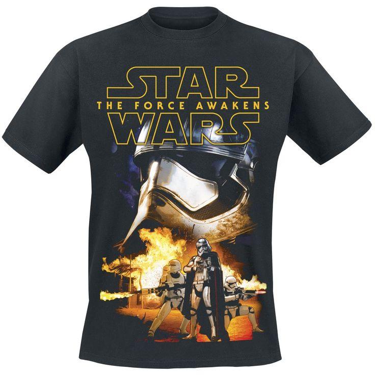 T-shirt Star Wars  »Episode 7 - The Force Awakens - First Order« | Køb nu hos EMP | Masser af T-shirts Fanmerchandise  fås online ✓ Stærke priser!