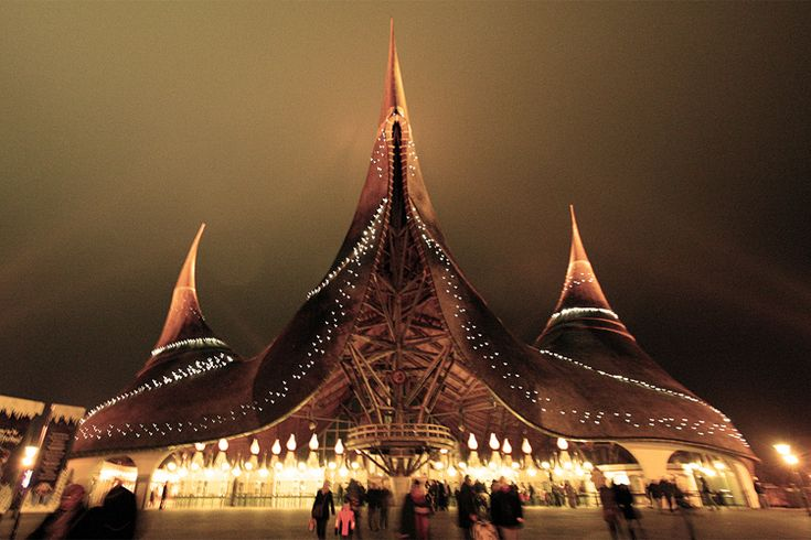 Forget Disney World (not really)-- I want to go here! Efteling...a fairy tale theme park in the Netherlands!