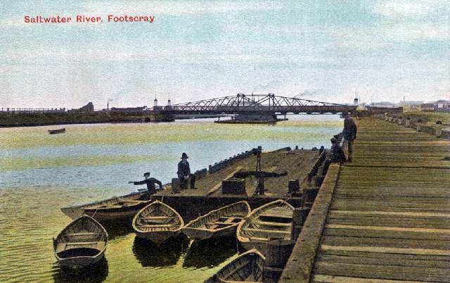 Saltwater River, Footscray -J.T.Collins & I Tour Footscray : Buildings and Architecture - Melbourne, Victorian & Australian Architecture
