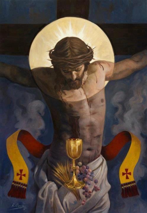 """I thirst."" —John 19:28."