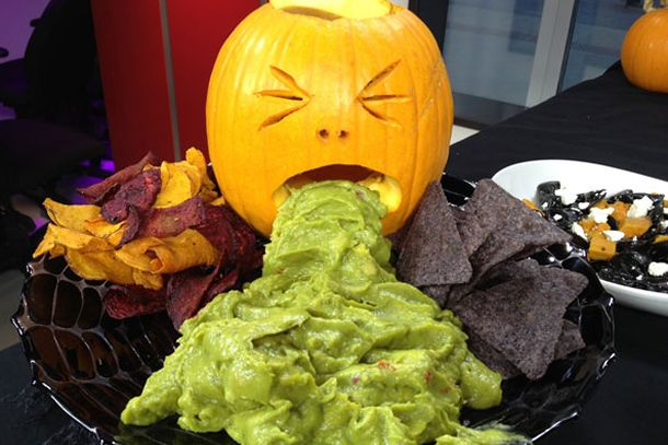 receita guacamole, decoração halloween, receitas criativas