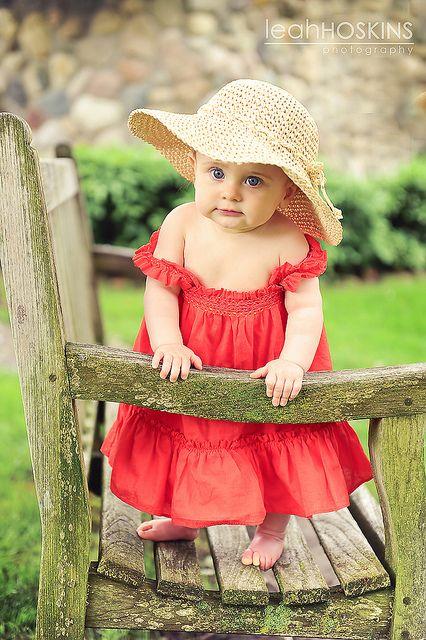 Adorable little miss!