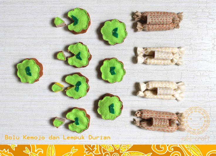 Felt miniature food Riau traditional food  https://www.facebook.com/profile.php?id=100004847115603