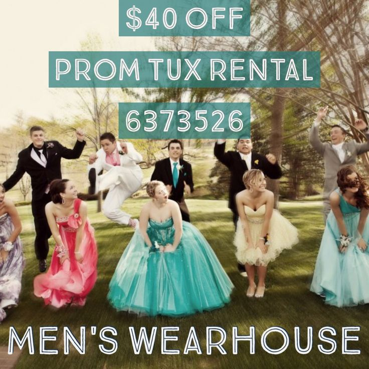 Tuxedo and Suit Rental $40 OFF! Tux Rental could be as cheap as $59! Use Coupon Code to Get Deal! #Prom #Tuxedo #Tux