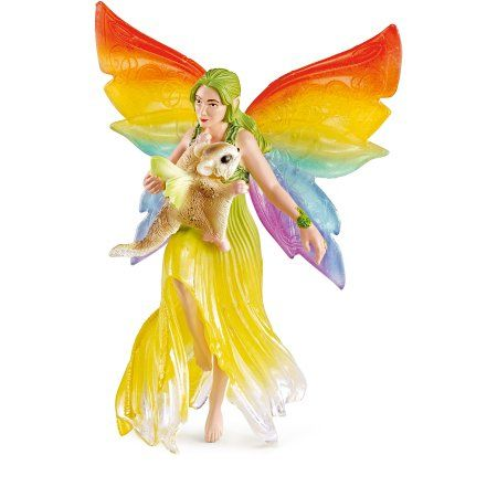 Schleich Meena Fairy Elf Toy, Multicolor