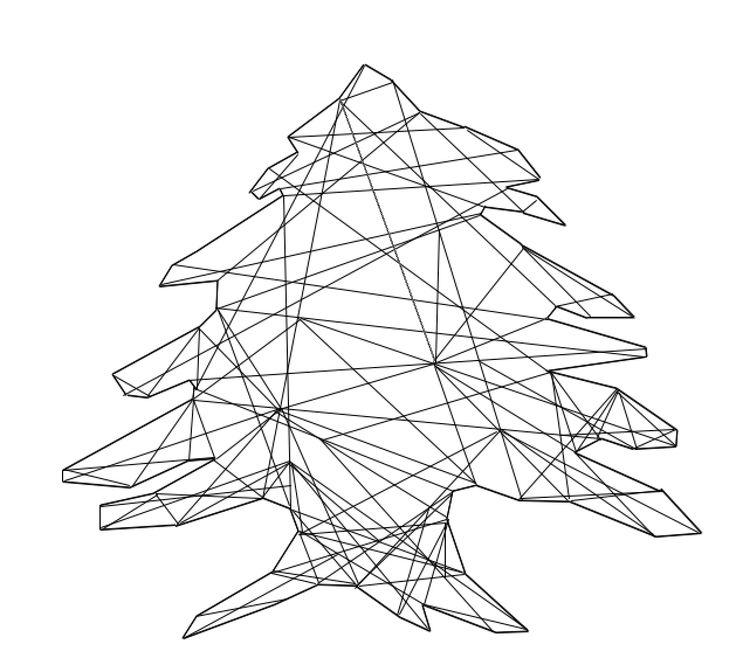 Cedar Tree Tattoo Idea.
