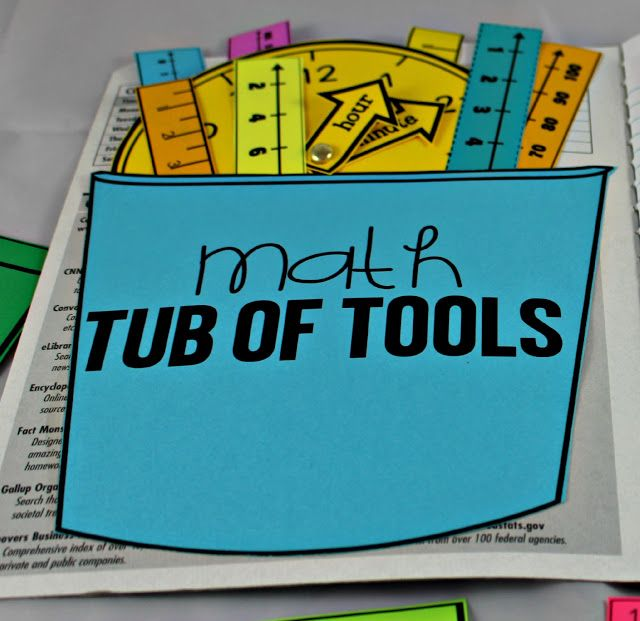 Math Tools for Reference! - construction zone?