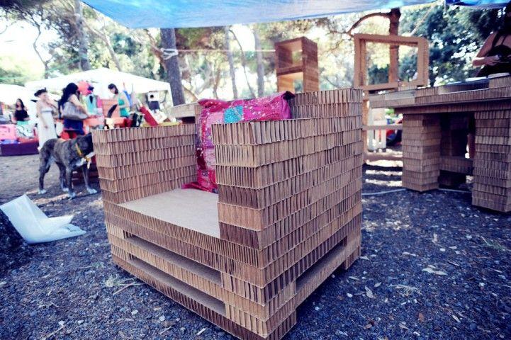 Eco Design: Alice Galli e i suoi mobili di cartone by Allegra Fregosi