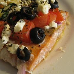 Griekse gebakken zalm recept - Recepten van Allrecipes