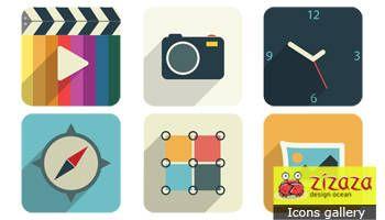#Freebies #Icon set - Web - Zizaza item for
