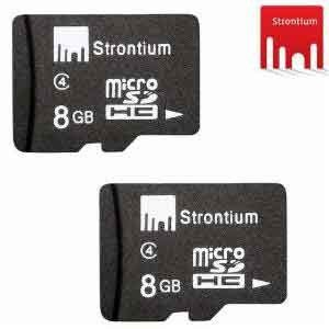 InfiBeam is offering 8GB Strontium MicroSD Card Class 4 only at Rs. 250.