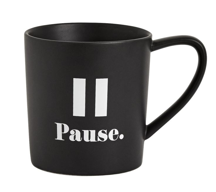 Be inspired to take a pause moment each day with this beautiful mug, which is a great visual reminder to stop and take a deep breath. Presented in a matching box, this makes a beautiful gift for your loved ones too.