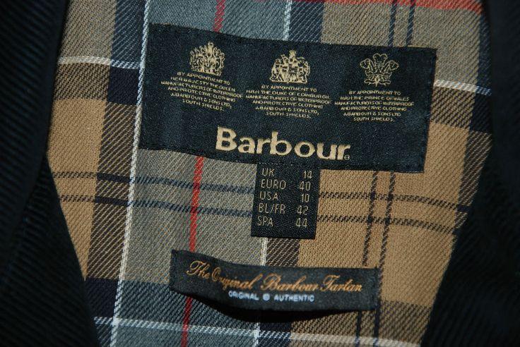 NWT BARBOUR ADDINGTON WOMENS COAT JACKET UK 14 WAXED RAINCOAT RIDING LWX0302NY92