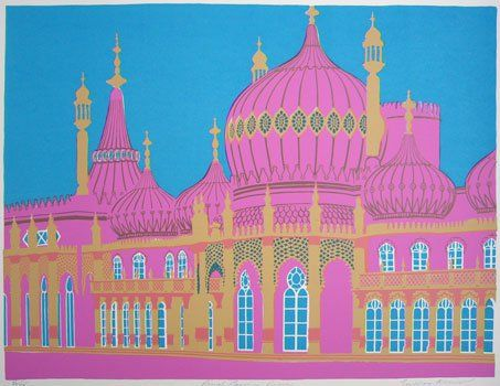Brighton Royal Pavilion by Geoffrey Elliott
