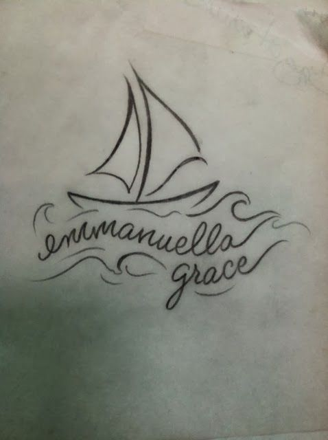Drawing The Line Tattoos Tara Mccabe : Ideas about sailboat tattoos on pinterest