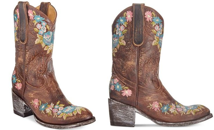 Anna Sui x INC International Concepts Old Gringo Lynn Western Boots, Created For Macy's - All Women's Shoes - Shoes - Macy's