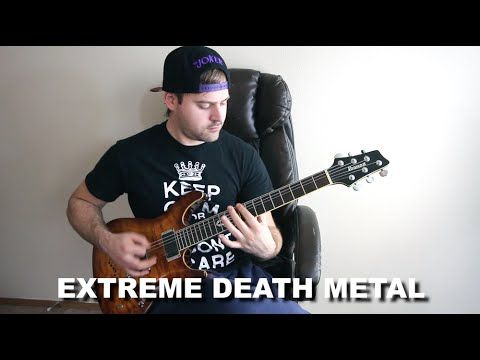 15 styles of metal (in 60 seconds)