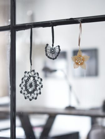 Crocheted Christmas Decorations, AW14