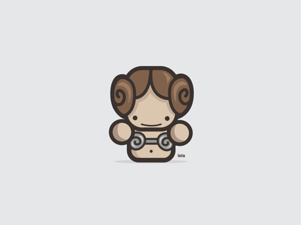 Adorable Vector Illustrations Of Pop-Culture Icons
