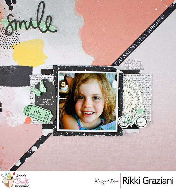 """Winter is here, So to kick the first of the month off, we have a Sketch Challenge made by Kylie, who was inspired by the new range """"Live More"""" by Pinkfresh Studio. Here we showcase a lovely inspiration layout by the amazing Rikki Graziani.  We would love to see you take on the challenge, get your entry in by midnight AEST June 30"""