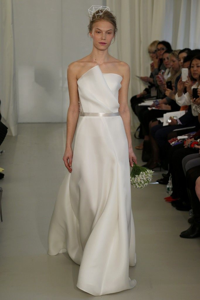 Angel Sanchez Bridal Spring 2014 - Slideshow - Runway, Fashion Week, Reviews and Slideshows - WWD.com