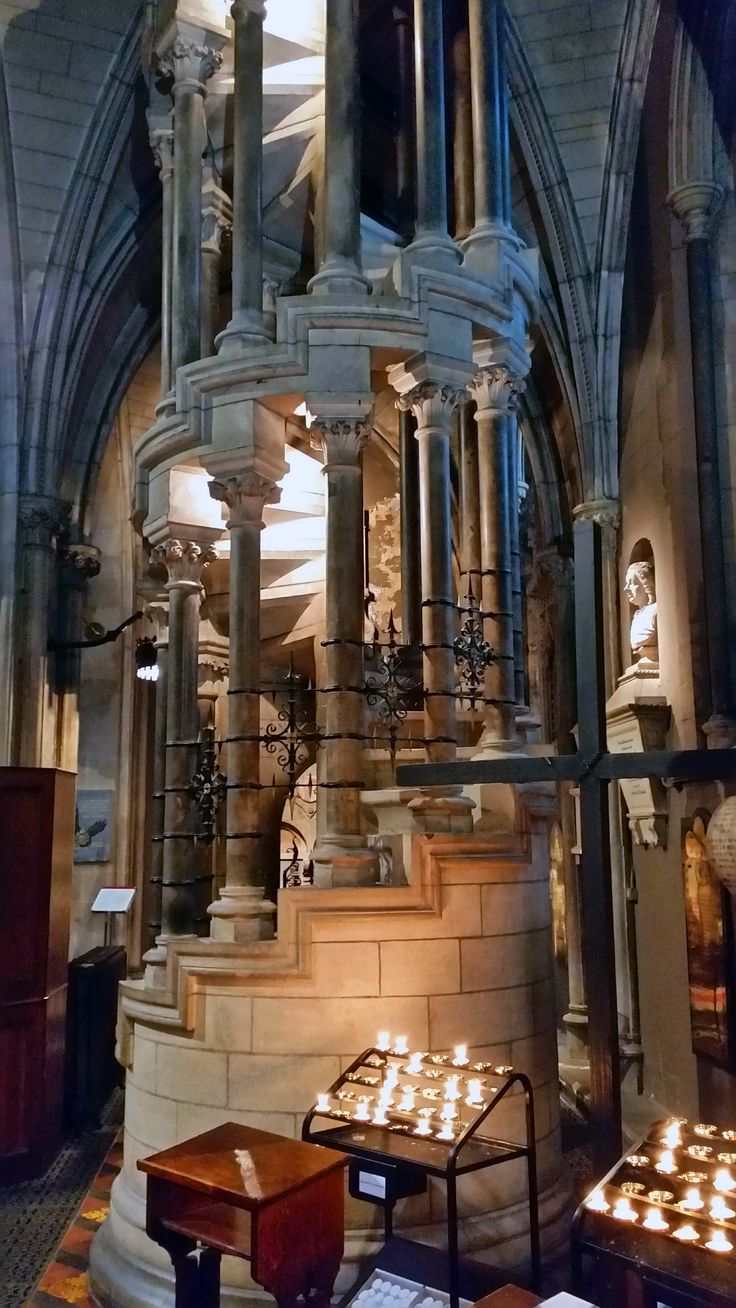 St Patrick's Cathedral, Dublin. I have been there and it's much nicer than the one in NYC, USA. This is nice though.