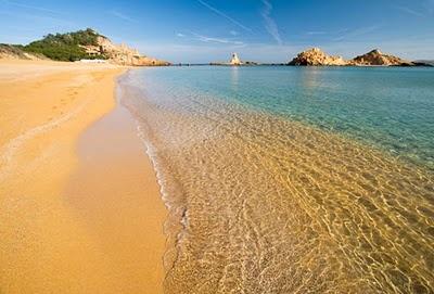 Cala pregonga, a wonderful beach in Menorca