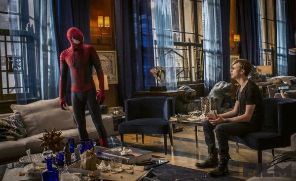 Spiderman y Harry Osborn... The Amazing Spiderman 2